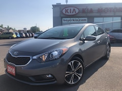 2016 Kia Forte SX LOW KM ONE OWNER
