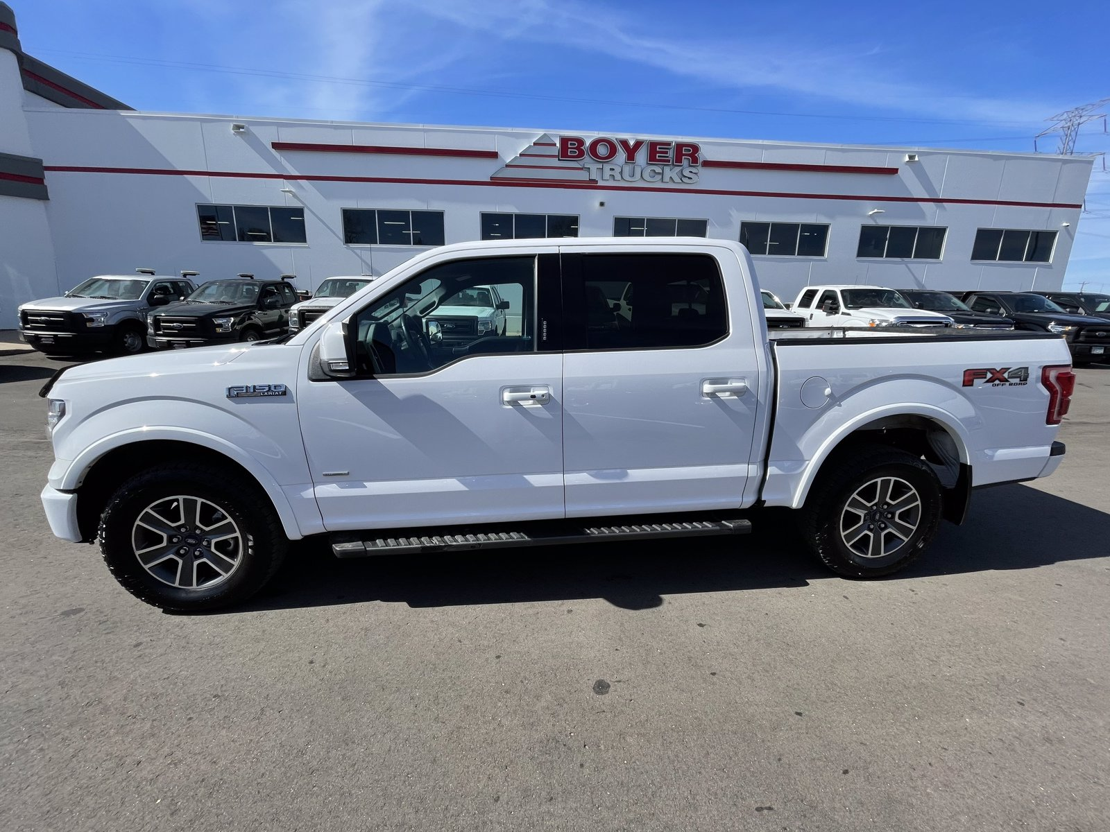 Used 2017 Ford F-150 Lariat with VIN 1FTEW1EG3HKD76515 for sale in Minneapolis, Minnesota