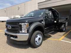 2019 Ford F-550 With Knapheide Dump Body XL 4WD Reg Cab 169 WB 84 CA