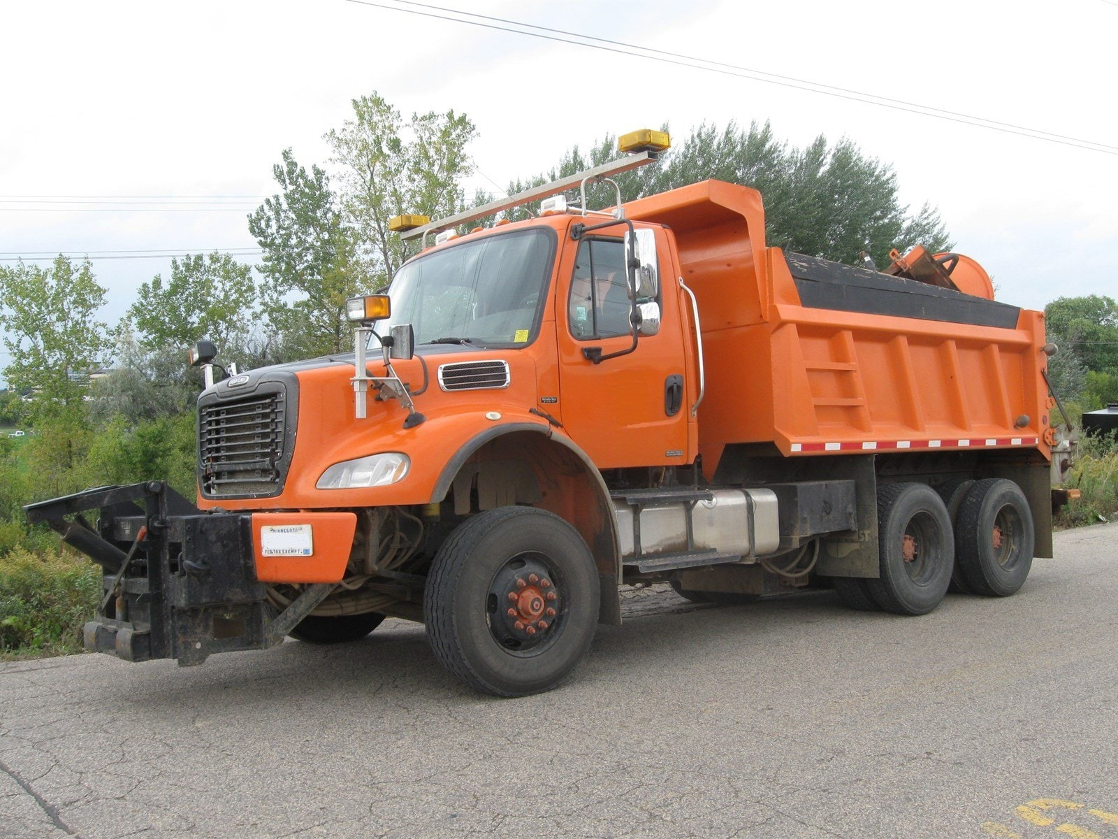 2008 Freightliner M2-112 T/A Plow