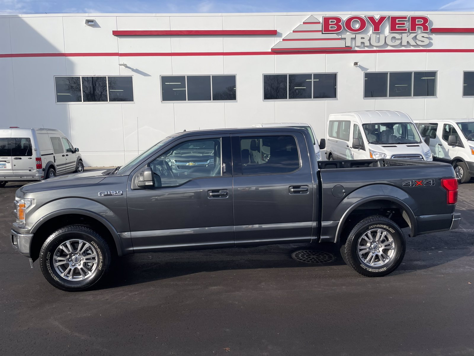 Used 2020 Ford F-150 Lariat with VIN 1FTEW1E58LFA63461 for sale in Minneapolis, Minnesota