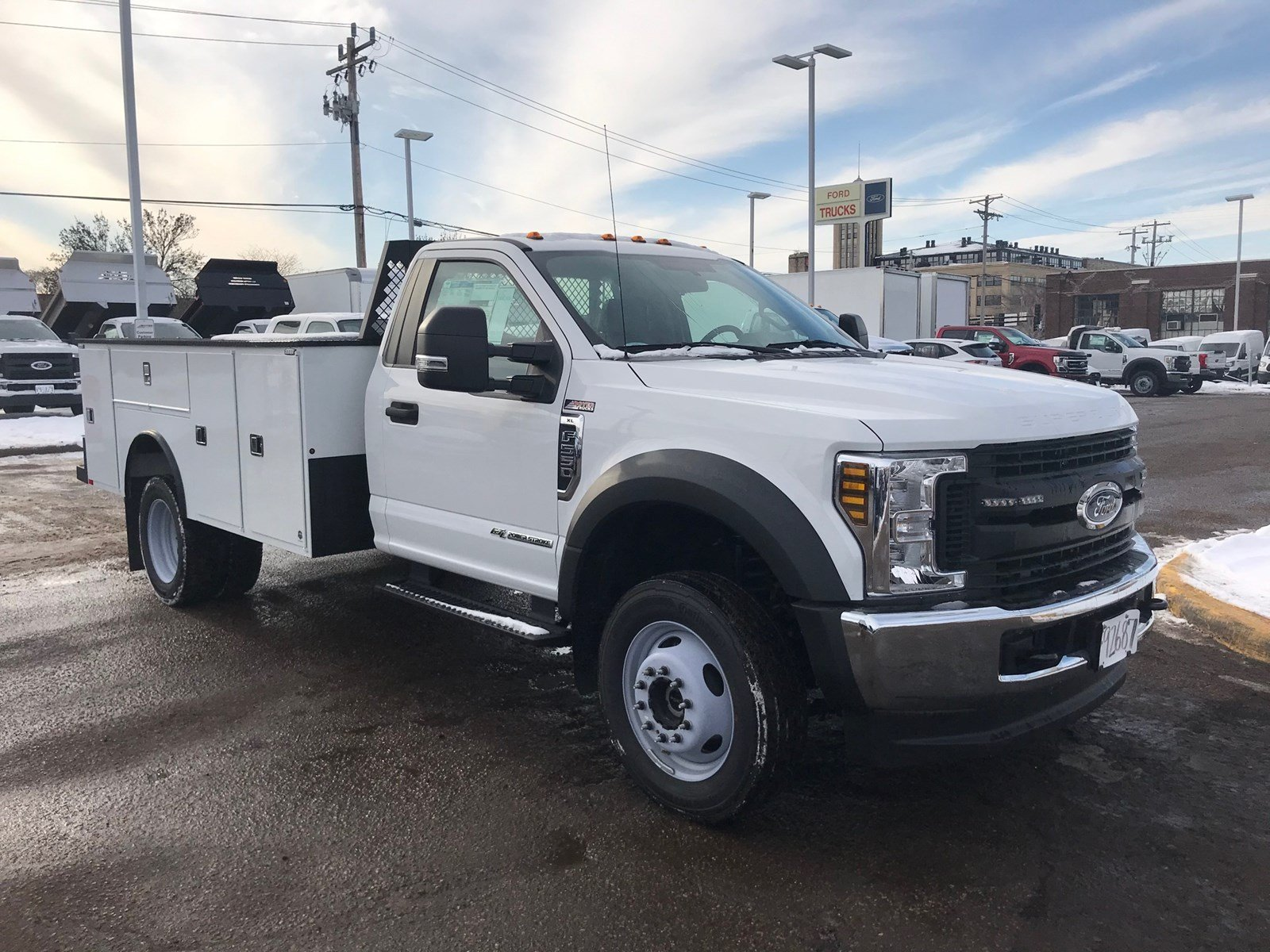 2019 Ford F-550 XL Truck Regular Cab