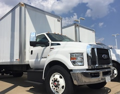 2017 Ford F750 26 Ohnsorg Cube Truck,Chassis Only: $60,900 Van