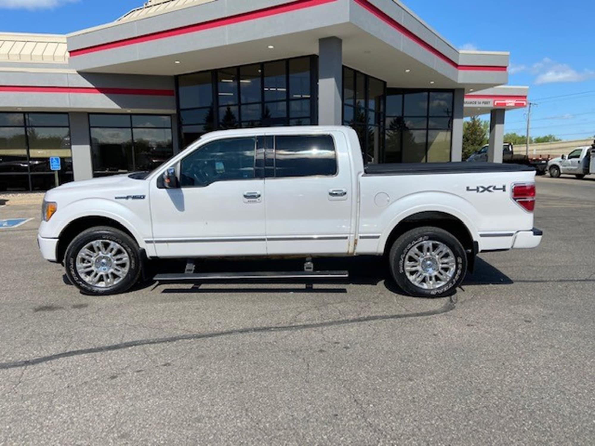Used 2010 Ford F-150 XL with VIN 1FTFW1EV1AFD04519 for sale in Minneapolis, Minnesota
