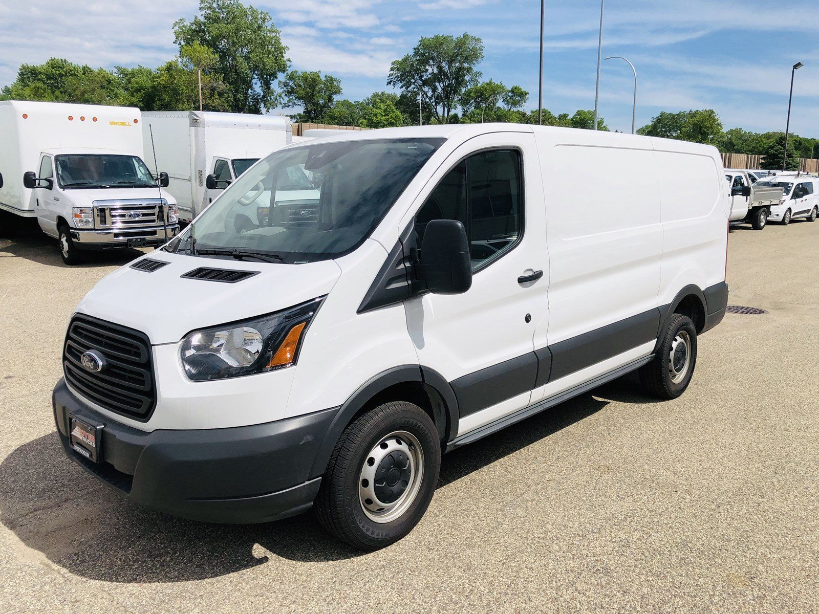 2018 Ford Transit Van T250 SWB Low Roof Cargo T-250 130 Low Rf 9000 GVWR Swing-Out RH Dr