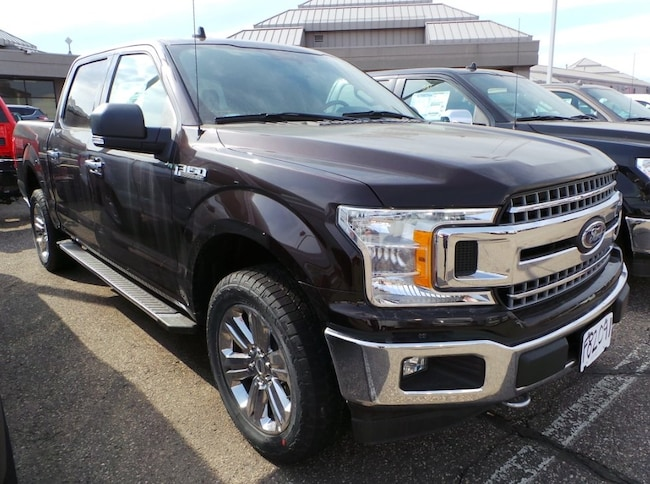 2018 Ford F-150 XLT Trim w/Chrome Upgrade & Towing Package Crew Cab Pickup