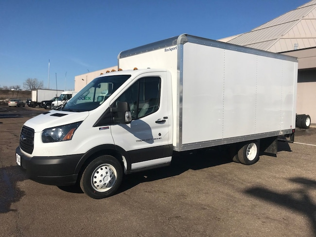 2019 Ford Transit Cutaway With 14 Cube B T-350 DRW 156 WB 9950 GVWR