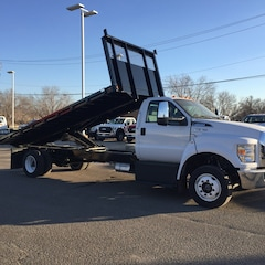 2018 Ford F650 Cab/Chassis Lo Pro, PTO Provision, 60 Gal. Fuel Tank, Voltmete