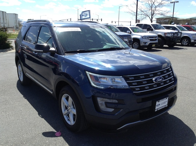 2017 Certified Pre-Owned Ford Explorer XLT 4WD SUV XLT 4WD