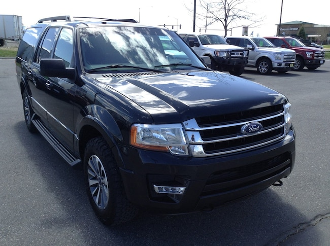 2015 Certified Pre-Owned Ford Expedition EL XLT 4x4 SUV 4WD  XLT