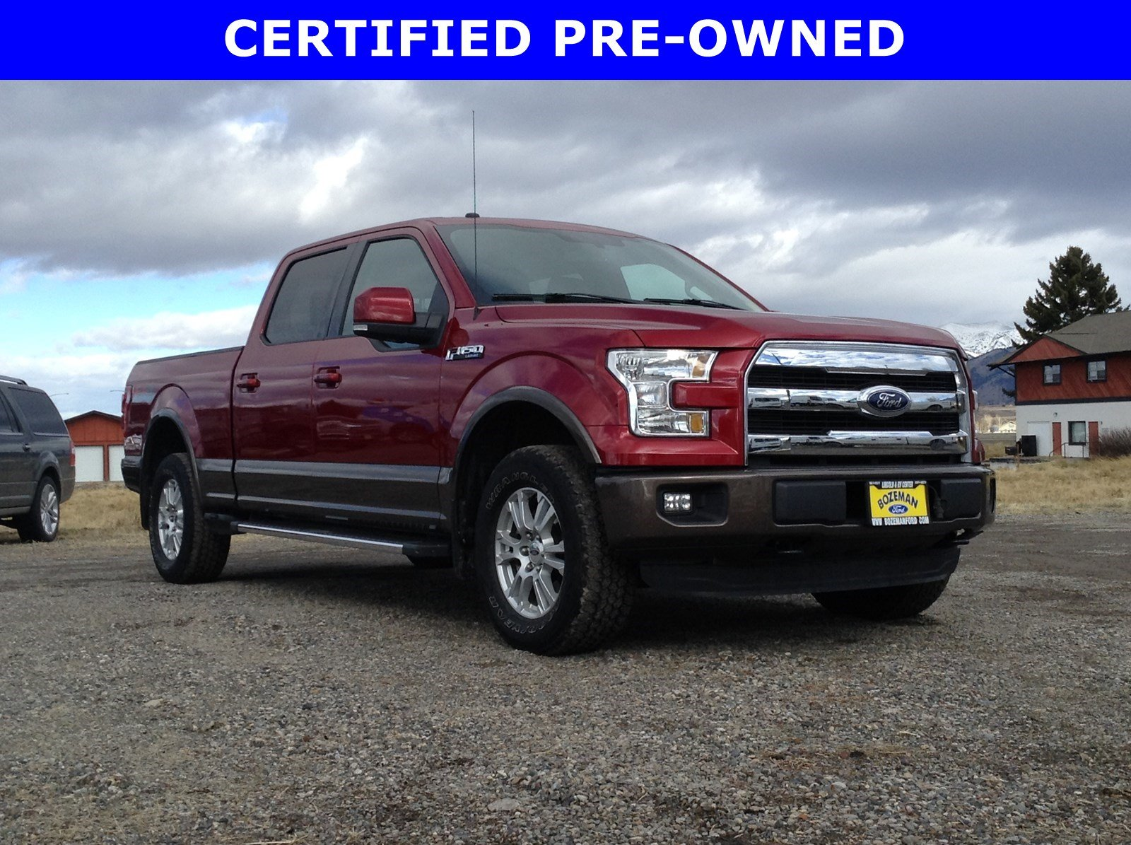 2016 Certified Pre-Owned Ford F-150 Lariat 4x4 Truck 4WD SuperCrew 157 Lariat