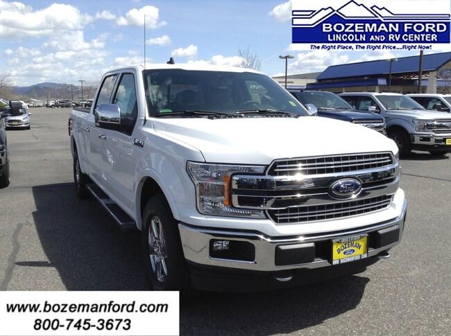 2019 Ford F-150 Lariat 4x4 Truck Truck SuperCrew Cab
