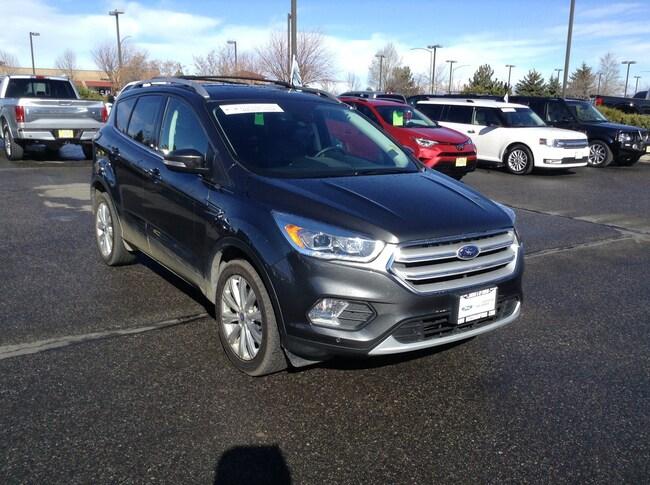 2018 Certified Pre-Owned Ford Escape Titanium 4WD SUV Titanium 4WD