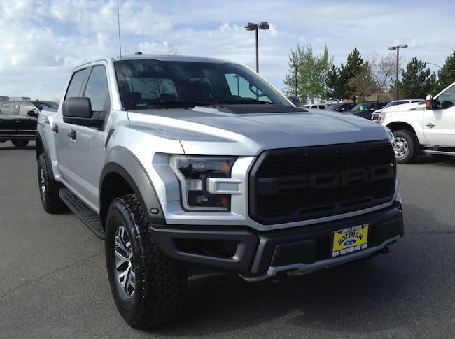 2017 Certified Pre-Owned Ford F-150 Raptor 4X4 Truck Raptor 4WD SuperCrew 5.5 Box