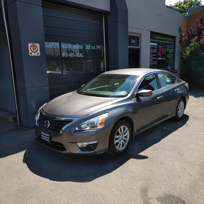2015 Nissan Altima 2.5 S, REVERSE CAM, AWESOME ON GAS! Sedan