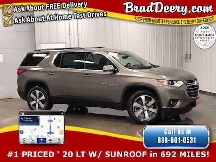 2020 Chevrolet Traverse LT  ** Factory Company Owned ** w / Heated Leather SUV