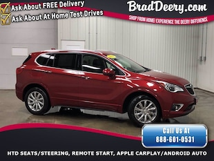 2019 Buick Envision Essence AWD  ** 1-OWNER ** w/ Htd.Leather, Htd 2nd SUV