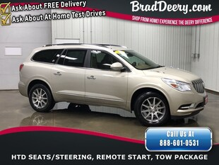 2017 Buick Enclave Leather  **1-OWNER** w/ Htd.Leather, Quad Buckets, SUV