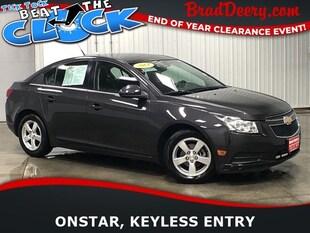2014 Chevrolet Cruze LT w/ Bluetooth, Keyless Entry & 38 MPG!! Sedan