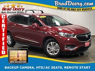 2018 Buick Enclave Premium AWD ** GM CERTIFIED ** w/ 3rd Row, Nav, R. SUV