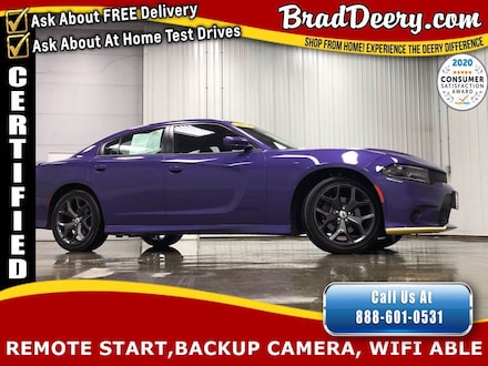 2019 Dodge Charger GT  **DODGE CERTIFIED** - ** PLUM PEARL ** w/ Func Sedan