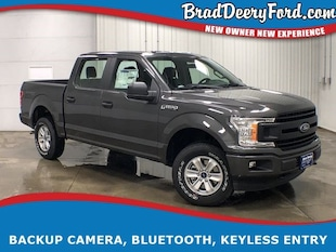 2019 Ford F-150 XL SuperCrew 4X4 Truck SuperCrew Cab