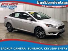 2017 Ford Focus SEL w/ Sunroof, B-up Camera, Bluetooth Sedan