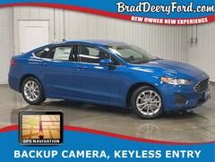 2019 Ford Fusion SE w/ Navigation, B-up Camera, USB & Keyless Entry Sedan