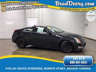 2011 CADILLAC CTS Performance AWD Coupe w/ Heated/Cooled Leather Sea Coupe