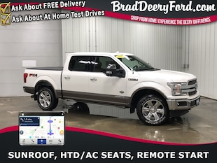 2018 Ford F-150 King Ranch SuperCrew 4X4 Diesel Truck SuperCrew Cab
