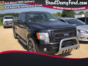 2013 Ford F-150 STX SuperCab 4X4 Truck SuperCab Styleside