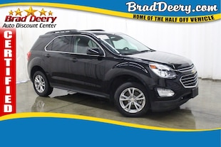 2017 Chevrolet Equinox LT ** GM CERTIFIED ** w/ Leather Seats, Bluetooth SUV