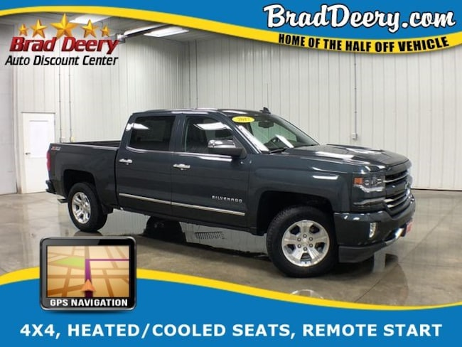Used 2017 Chevrolet Silverado 1500 For Sale At Brad Deery Ford Vin