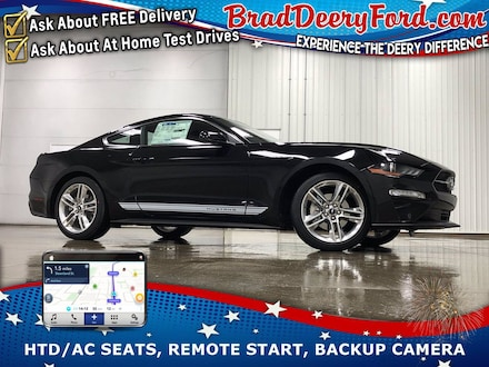 2021 Ford Mustang EcoBoost Premium w/ Nav, Heated/Cooled Leather, Re Coupe