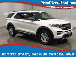 2020 Ford Explorer XLT 4X4 w/ Wi-Fi, B-up Camera & R. Start SUV