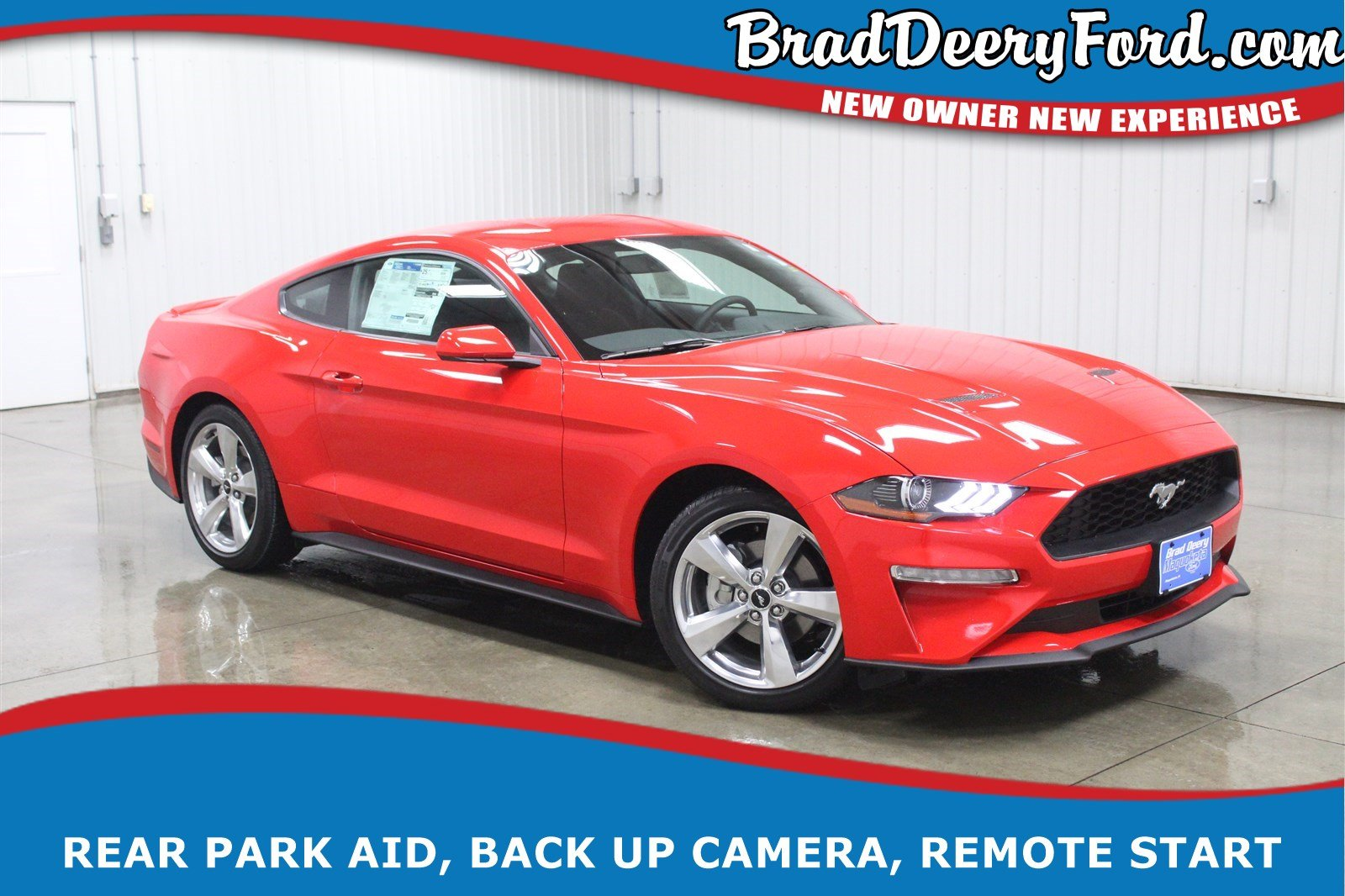 New 2018 ford mustang for sale at brad deery ford vin 1fa6p8th7j5113489