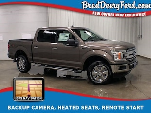 2019 Ford F-150 XLT SuperCrew 4X4 W/ Navigation, R.Start, B-up Cam Truck SuperCrew Cab