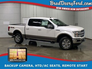 2019 Ford F-150 Lariat SuperCrew 4X4 W/ Navigation, Moonroof, HTD/ Truck SuperCrew Cab