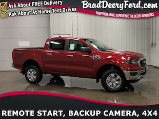 2020 Ford Ranger XLT SuperCrew 4X4 Truck SuperCrew