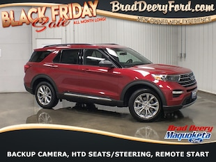 2020 Ford Explorer XLT w/ Moon Roof, Htd Lthr. Seats, B-up Camera & R SUV