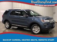 2019 Ford Explorer XLT 4X4 W/ Navigation, Moonroof, R.Start, B-up Cam SUV