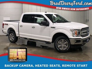2019 Ford F-150 XLT SuperCrew 4X4 Truck SuperCrew Cab