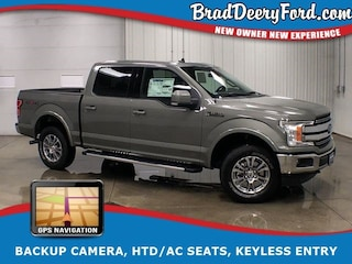 2019 Ford F-150 Lariat SuperCrew 4X4 W/ Navigation, R.Start, B-up Truck SuperCrew Cab