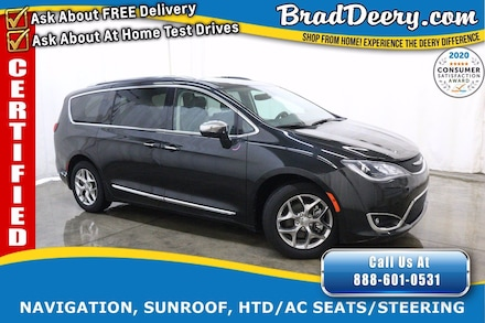 2019 Chrysler Pacifica Limited ** CHRYSLER CERTIFIED ** w/ Heated/Cooled Van Passenger Van