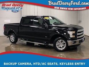 2016 Ford F-150 Lariat SuperCrew w/ Htd/AC Seats, Back-up Camera Truck SuperCrew Cab