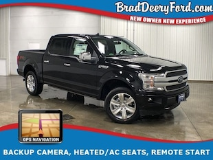 2019 Ford F-150 Platinum SuperCrew 4X4 Truck SuperCrew Cab