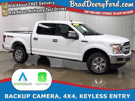 2019 Ford F-150 XLT SuperCrew 4X4 w/ Back-Up Camera, Keyless Entry Truck SuperCrew Cab