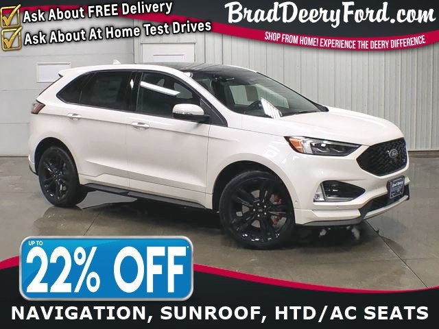 2019 Ford Edge ST AWD W/ Navigation, Moonroof, R.Start, B-up Came SUV