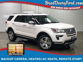 2019 Ford Explorer Platinum 4X4 SUV