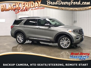 2020 Ford Explorer XLT 4X4 w/ Mono Roof, Htd. Lthr. Seats, B-up Camer SUV